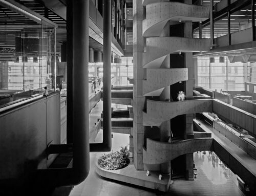 Banco de Londres, Estudio SEPRA y arquitecto Clorindo Testa, Ciudad de Buenos Aires, 1966.