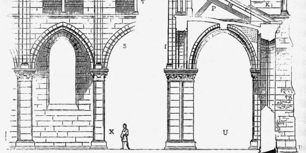small Viollet-le-Duc catedral gótica
